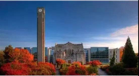 不列颠哥伦比亚大学校园风景