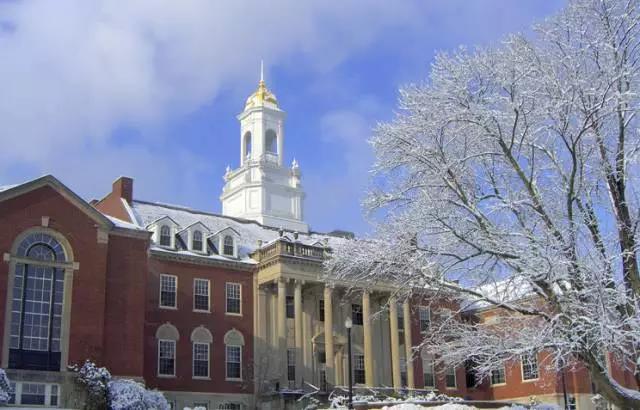 康涅狄格大学校园风景