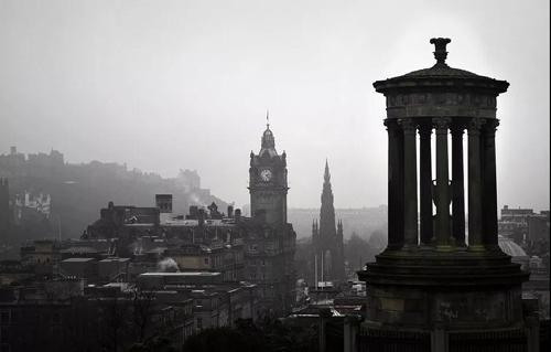 爱丁堡风景