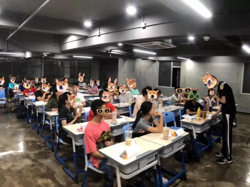 2018年7月香港DSE体验版课堂照片